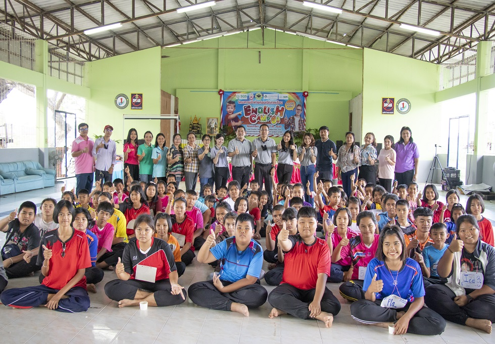 The First English Camp 2020 at Baan Nong Wang School - The Tapioca Partnership School during 23-27th
